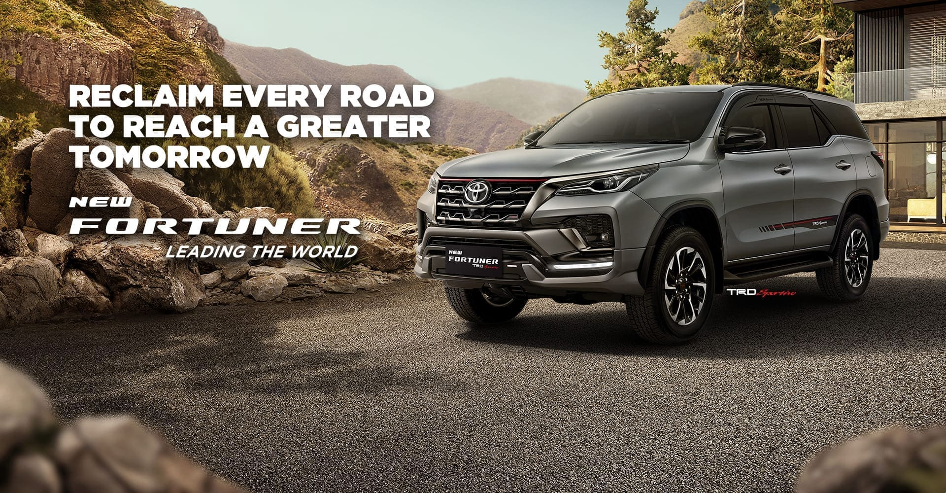 New Fortuner TRD Sportivo